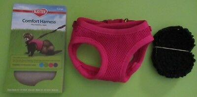 Harness - Comfort - Kaytee Size: Large - Plus Stretchy Leash