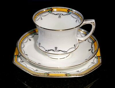A Beautiful Early Art Deco Paragon Trio