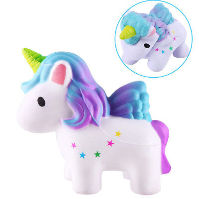 Hot Jumbo Unicorn Squeeze Slow Rising Squishies Scented Toy Collection