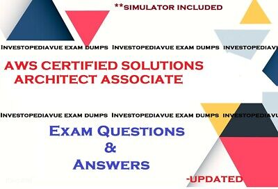 AWS Certified Solutions Architect Associate SAA-C01 Exam dumps  and simulator
