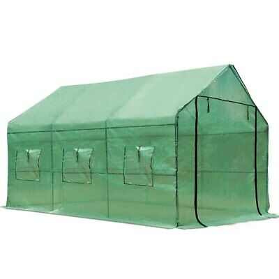 3.5x2x2M Green House Green Cover