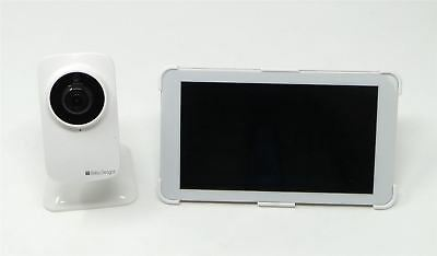 """Baby Delight Snuggle Nest 7"""" HD Tablet Video Baby Monitor White BD4060 See Desc"""