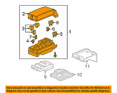 GM OEM-ELECTRICAL Fuse & Relay Box 20828606 - $96.05   PicClick on