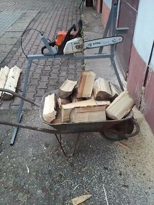 Metal Log Saw Horse With Holder For Logs Ideal For all Chainsaw - link to video