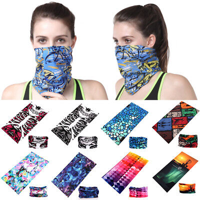 Motorcycle Headband Face Mask Neck Snood Headwear Magic Unisex Cycling Scarf