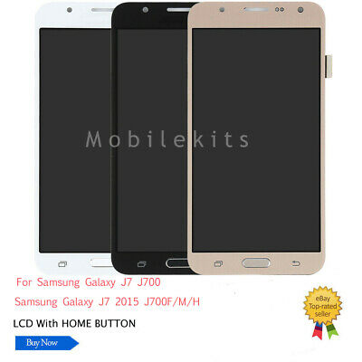 For Samsung Galaxy J7 2015 J700F J700M J700H LCD Replace Touch Screen Digitizer
