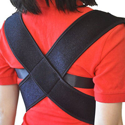 New Posture Support Corrector Back Pain Relief Magnetic Belt Brace Male/female