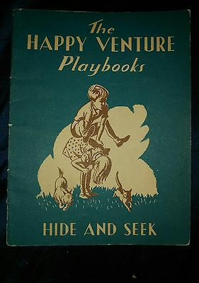 The Happy Venture Playbooks - Hide And Seek  Book (Fred J. Schonell) (ID:02632)