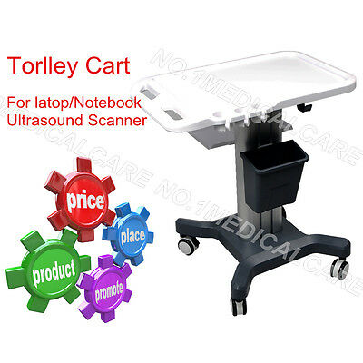 Mobile Trolley Cart for Portable Ultrasound scanner system, CONTEC