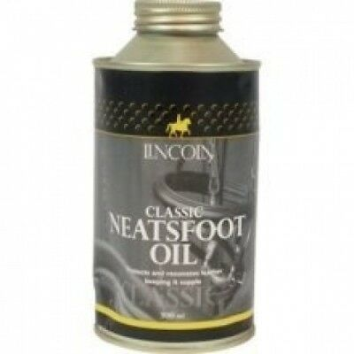 Lincoln Classic Neatsfoot Oil: 500ml. Delivery is Free