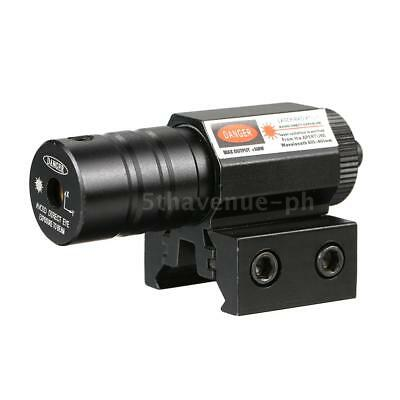 1Set Mini Tactical Red Dot Outdoor Red Laser Sight with Tail Switch Scope L6F3