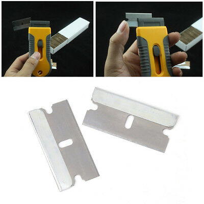 PRO Ceramic Oven Glass Window Tinting Scraper Razor Stainless Steel 1.57'' Blade