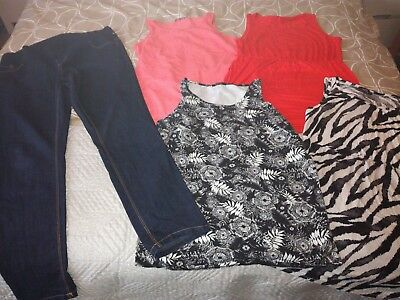 Maternity size, 16/18 bundle, summer, tops, jeans