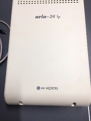 ARIA 24 IP LG Nortel Phone System TN With 8 Handsets