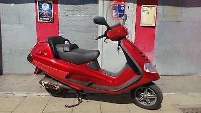 Piaggio Hexagon 125cc 2 stroke scooter twist and go moped MOT but SPARES  REPAIR
