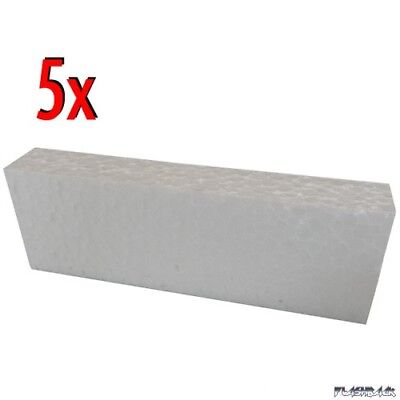 5x Styropor-Block Inlay für NES Originalverpackung - Styrofoam OVP Box - NEW -