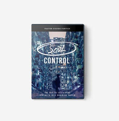 SOUL CONTROL: THE KEY TO SUSTAINING STRENGTH Steven Furtick DVD Set