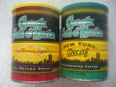 Chock Full o Nuts Coffee New York City WTC 9/11 Twin Towers lot of 2