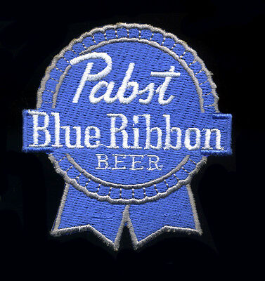 PBR patch Pabst Blue Ribbon Beer Classic Brewery Jacket Vest