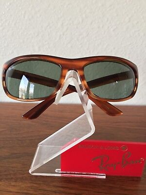 c2fc7ef2601 Vintage Ray Ban Bausch and Lomb Brown Tortoise Balorama W2872 Sunglasses USA