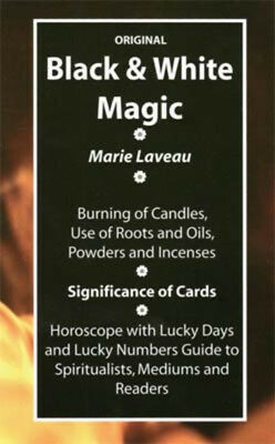 NEW Black & White Magic Book by Marie Laveau BBLAWHI0SP
