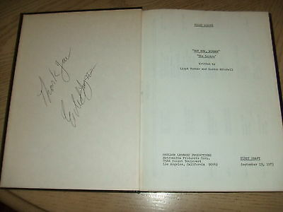 SIGNED 1973 PILOT Bound Script Not Now Norman Turner Mitchell All in the Family