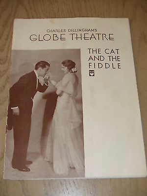1931 Cat and the Fiddle Playbill + Flyer Globe Theater NY OWNED EDDIE FOY JR III