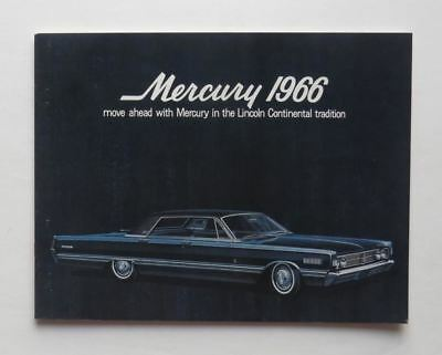 1966 Mercury Brochure Park Lane Montclair Monterey S-55