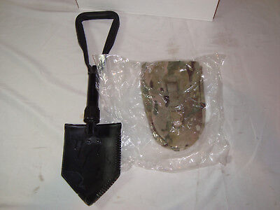New Us Military Issue Entrenching Tool With Multicam Pouch