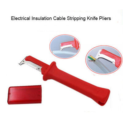 Electrical Insulation Cable Stripping Knife Hook Fixed Blade Wire Stripper Stock