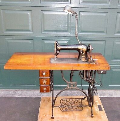 ANTIQUE SINGER 4040 Heavy Duty Leather Upholstery Sewing Machine Magnificent Antique Singer Upholstery Sewing Machine