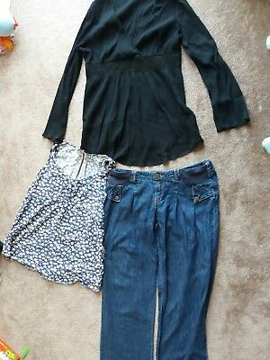 Next - NEW Look- maternity clothes bundle size 8-10 -used