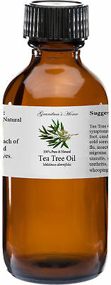 Tea Tree Essential Oil - 4 oz - 100% Pure and Natural - Free Shipping
