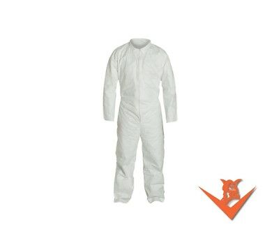 Industrial Disposable Tyvek Coverall No Hood, No Boot