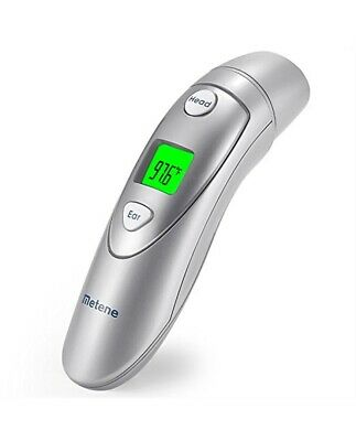 Metene Medical Forehead Ear Infrared Digital Thermometer Baby Toddler Adult