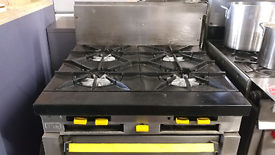 """36"""" Garland Stove - 4 stock pot burner with convection oven"""