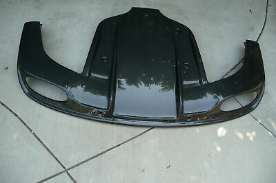 12-15 Bentley Continental GT / GTC Mulliner Style Carbon Fiber Rear Under Cover