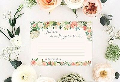 Baby Shower - 40 Advice Cards For Parents-To-Be Timeless Keepsake