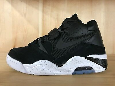 more photos 72ceb 95827 Nike Air Force 180 Black White Charles Barkley Basketball Size 9 310095-003