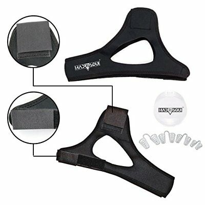 Anti Snoring Chin Strap Devices and Nose Vent Set | Snoring Solution Comfortable