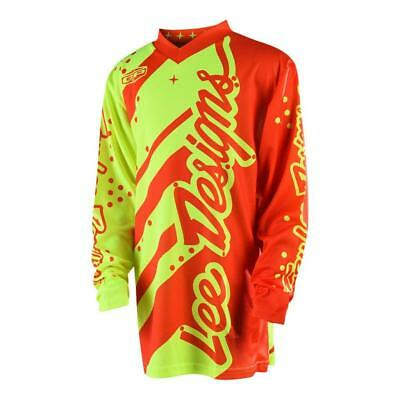 Youth GP Shadow Flu-Yell/Orange Jersey(Size:Youth SM)2018 MOTOCROSS GEAR SALE!!