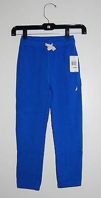 Toddler Boys /& Boys Nautica $36.50 Navy Blue Stretch Jogger Pants Sizes 2T 7