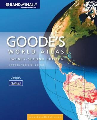 Goode's World Atlas by Rand McNally Staff (2009, Paperback)
