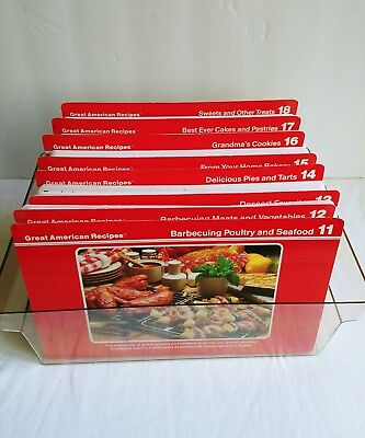 VINTAGE 1980s GREAT AMERICAN RECIPES Recipe Cards BOX SET