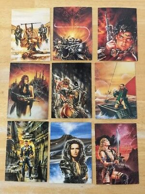 Luis Royo From Fantasy To Reality Cards Near Complete Set 86 of 90 NM/M 1993