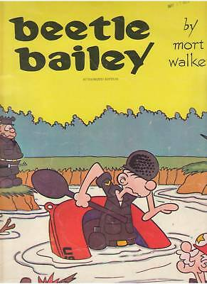 Beetle Bailey Mort Walker Authorized Giant Comic Album 1972 Out Of Print Rare