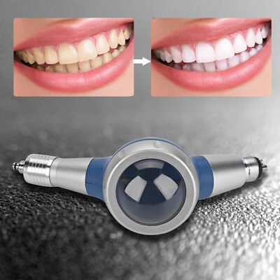 Blue Dental Care Air Flow Teeth Polishing Polisher Handpiece 4 Hole Prophy Jet