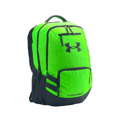7211076b02 Under Armour Storm Hustle II  1263964-389  Backpack Green Black
