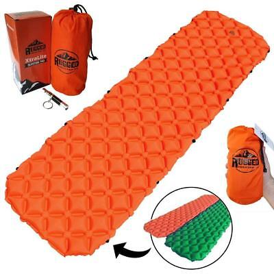 Rugged Mountain Co. Best Connectable Ultralight Sleeping Pad for Camping,...