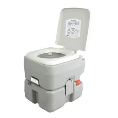 SereneLife Outdoor Portable Toilet with Carry Bag, Travel Level indicator |...